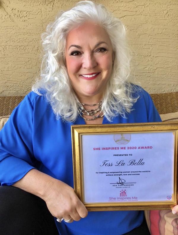 Tess With Award